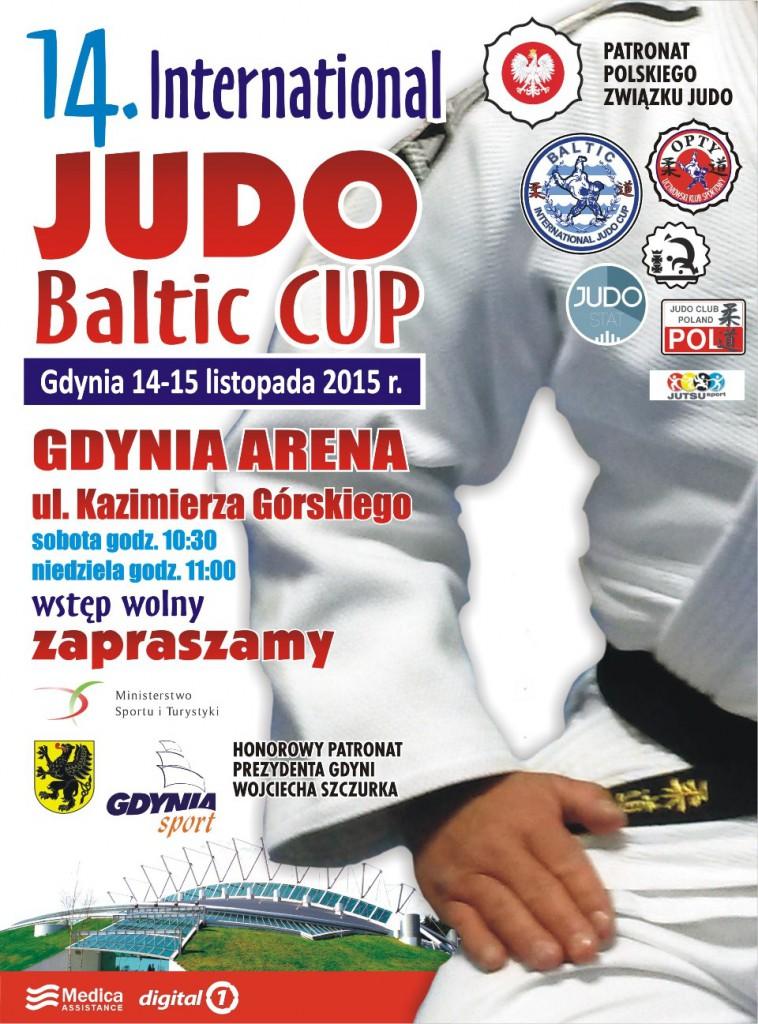 plakat judo 2015